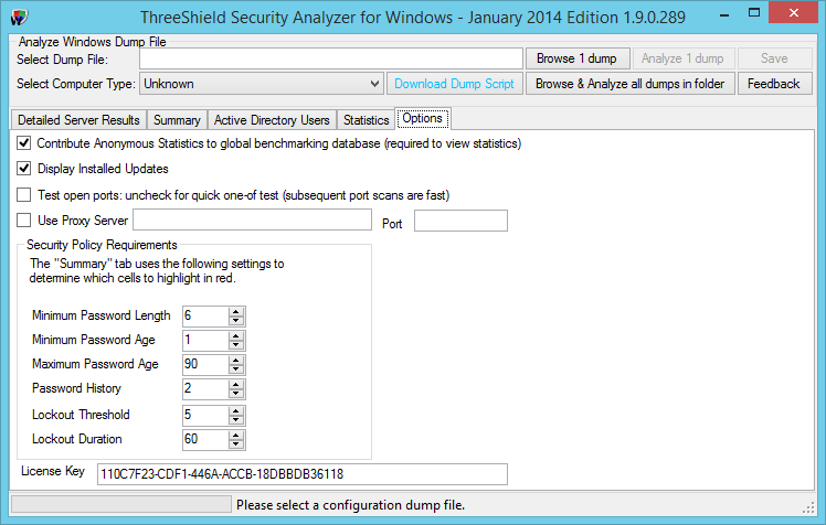 ThreeShield Security Audit Analyzer for Windows Systems